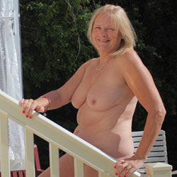 Down On The Farm - Big Tits, Blonde