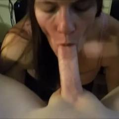 Vixen_Eve Going For It - Brunette Hair, Tattoo, Blowjob, Cumshot , She Really Got Into It This Night. Added Some Music. She Is Loving The Positive Feedback! Thanks