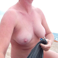 Pic #1Susanna On The Beach - Beach, Big Tits
