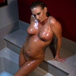 Bath Time  - Big Tits, Brunette