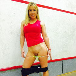 Who Fancies A Game !!! - Blonde, Shaved