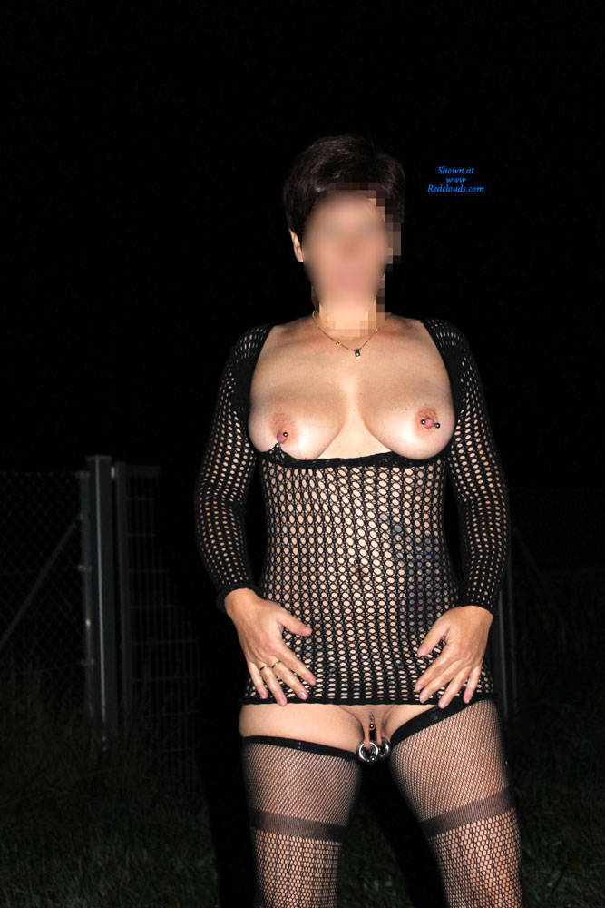 Pic #1Rear View - Big Tits, Outdoors, See Through