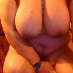 Very large tits of my wife - Wife