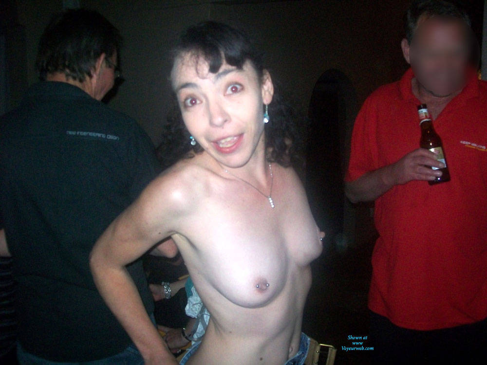 Pic #1Naughty Wife - Brunette, Public Exhibitionist, Public Place, Shaved, Wife/wives