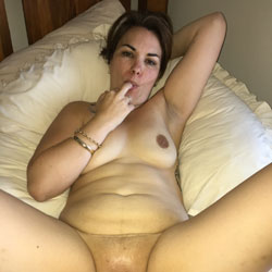 Blinds Open - Big Tits, Brunette, Shaved