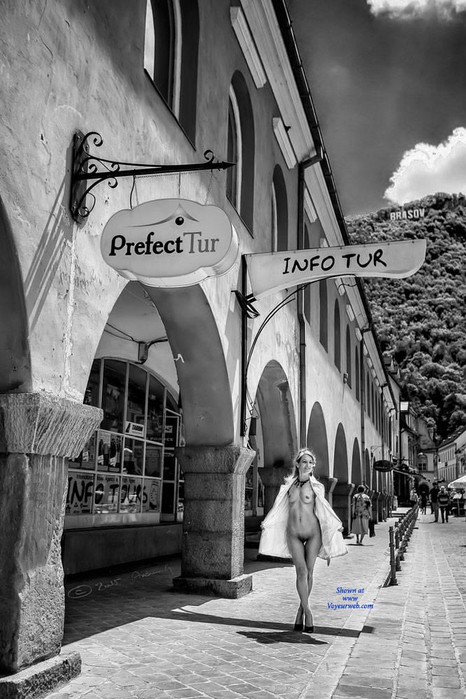 Pic #1Laura Von S On Tour - Public Exhibitionist, Flashing, Public Place