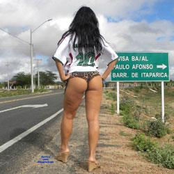 Selma Brasil And Tight Shorts - High Heels Amateurs