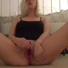 Waiting For Me - Blonde Hair, Masturbation, Toys , She Waiting For Me To Come Home..