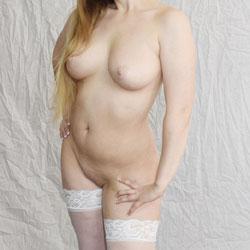 Strip Tease In Tartan Skirt And Heels - Striptease, Shaved, Lingerie, High Heels Amateurs, Big Tits, Wife/wives