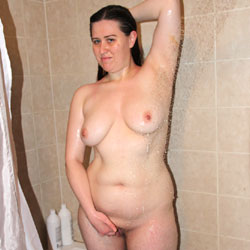 Taking A Shower - Big Tits