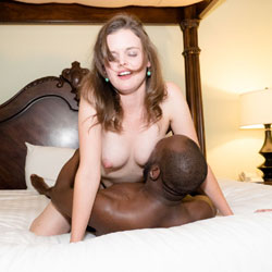 Interracial Sex On Bed - Bed, Full Nude, Naked In Bed, Showing Tits, Sexy Body, Sexy Boobs, Sexy Face, Sexy Girl, Girl On Guy, Interracial , Interracial Sex, Naked, Black And White, Bed, Girl On Guy