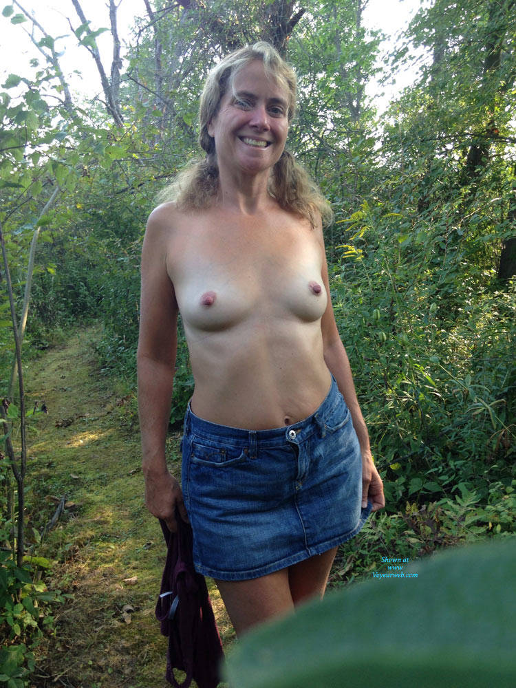Wife With Tits Out
