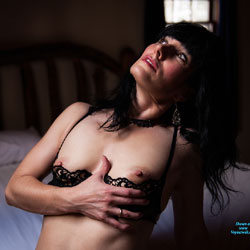 Sexy Brunette On Bed Showing Nipples - Bed, Bra, Brunette Hair, Erect Nipples, Flashing Tits, Flashing, Hard Nipple, Nipples, Small Tits, Strip, Sexy Girl, Sexy Lingerie , Sexy, Brunette, Nude, Naked, Bed, Nipples, Bra