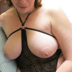 Large tits of my wife - Deee