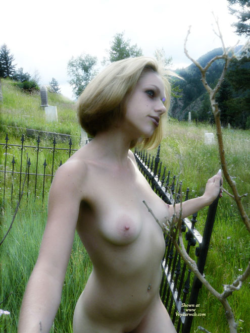 Hot Goth In Graveyard - Blonde Hair, Exhibitionist, Large Aerolas, Navel Piercing, Naked Girl, Nude Amateur , Short Haired Blonde In Cemetary, Navel Piercing, White Girl With Pierced Navel, Graveyard Beauty, Old Cemetery Nude, Sexy Slim Body, Puffy Tits With Large Nipples, Blonde Nymph Waiting, Outdoor Exhibitionist, Short Blonde Hair