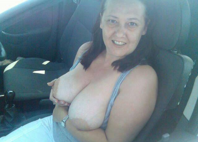 Pic #1Large tits of my wife - busty