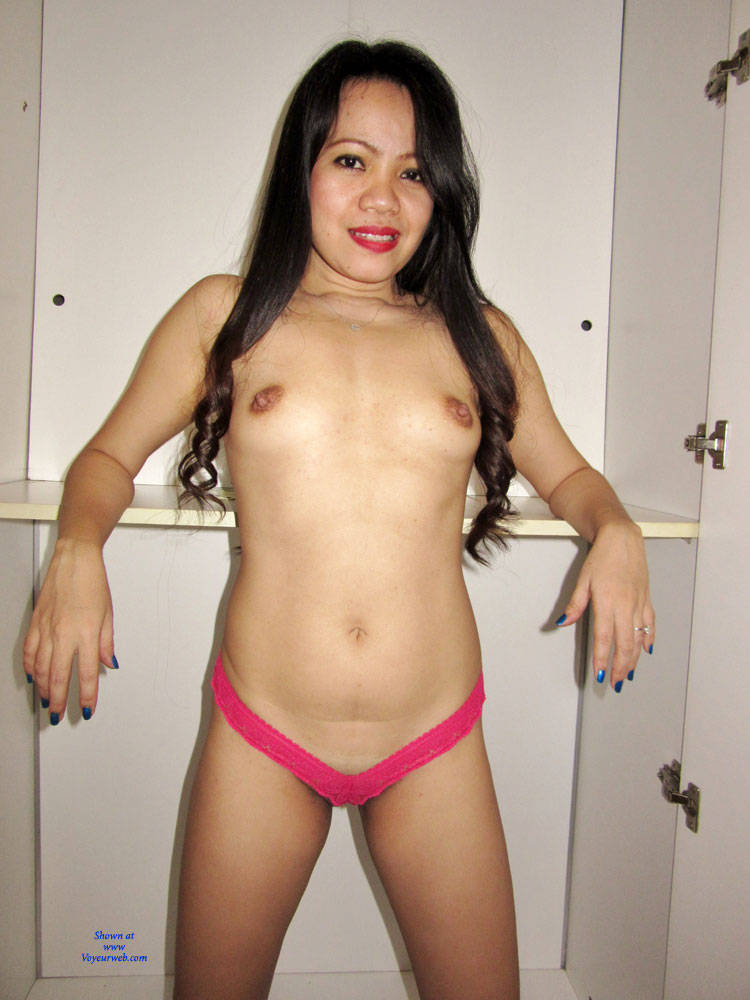 Sexy Asian In Pink Pantie - March, 2016 - Voyeur Web Hall -2856