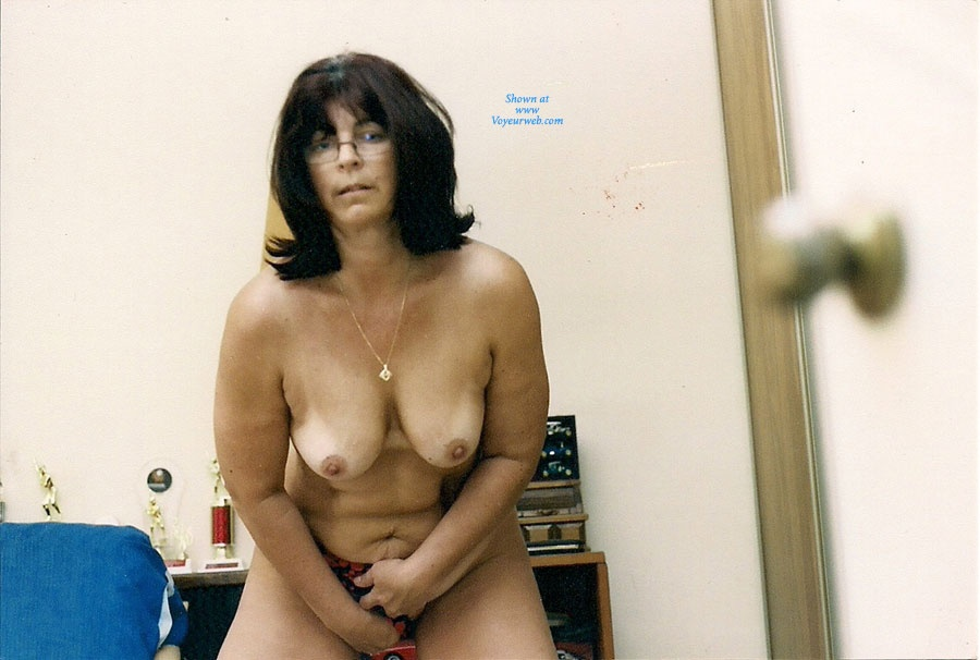 Pic #1 Nervous Mom Stripping - Big Tits, Striptease, Wife/wives