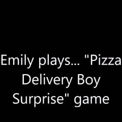 Pizza Delivery Boy Surprise Game