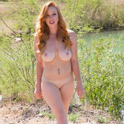 Naughty Redhead 1st Nudes