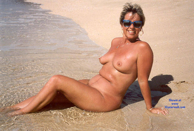 My Wife Debbie At Funbags-4961