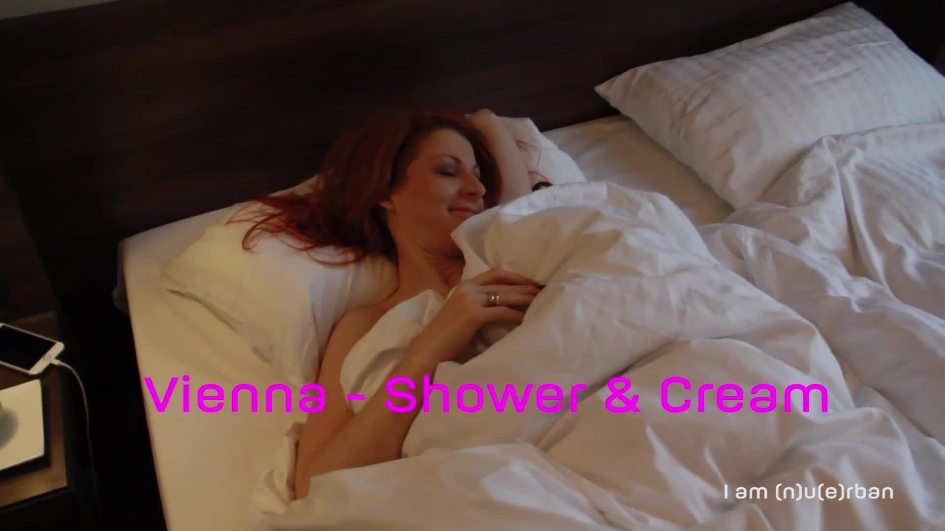 Pic #1Vienna - Shower And Cream - Firm Ass, Redhead, Shaved