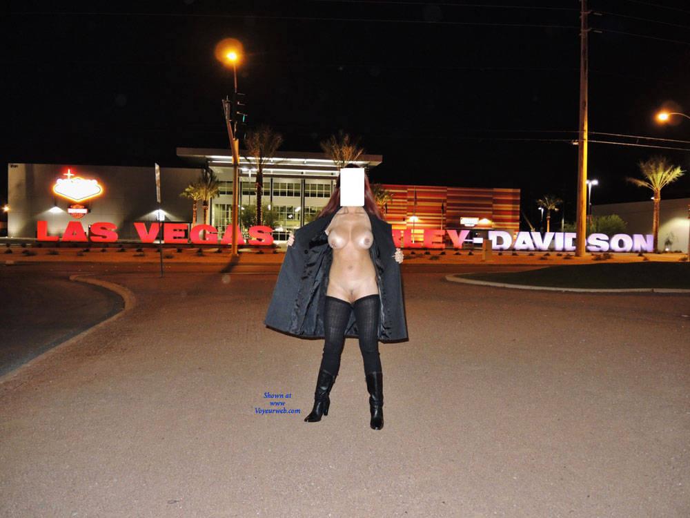 Pic #1What Happens In Vegas .. I Show To You! Part 1 - Big Tits, Public Exhibitionist, Public Place