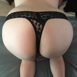 My girlfriend's ass - Beth