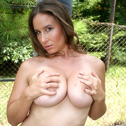 Outdoor Boob Play