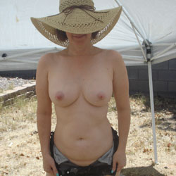 Wanting To Show Off!!!! - Big Tits, Outdoors, Shaved
