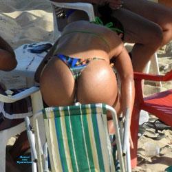 Delicious Ass From Janga Beach - Beach Voyeur, Bikini Voyeur