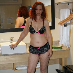 Round 2 - Big Tits, Lingerie, Redhead
