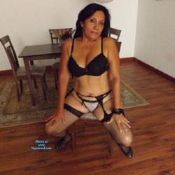 La Goajira Betty V - Brunette, High Heels Amateurs, Lingerie
