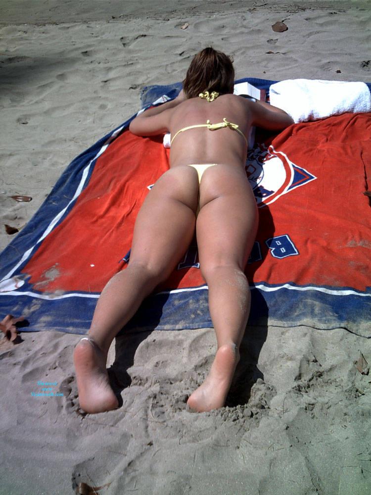 Pic #1My Wife's Big Bikini Ass - Beach, Wife/wives