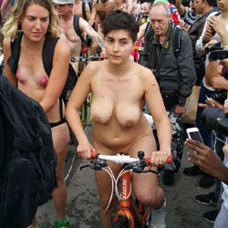 Nude Bike Ride London 2016