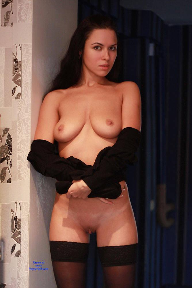 Pic #1Evening - Big Tits, Brunette, Shaved