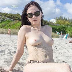 Kat At The Beach