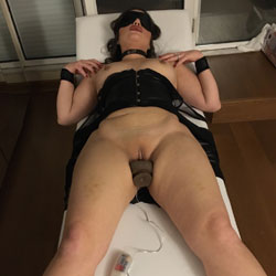 Blindfolded Nude Wife Masturbating - Big Tits, Heels, Indoors, Masturbation, Nipples, Shaved Pussy, Hairless Pussy, Sexy Body, Sexy Legs, Toys, Wife/wives , Nude, Wife Blindfolded, Masturbation, Shaved Pussy, Nipples