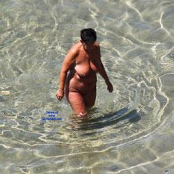 Nudist Beach - Beach Voyeur, Big Tits, Brunette