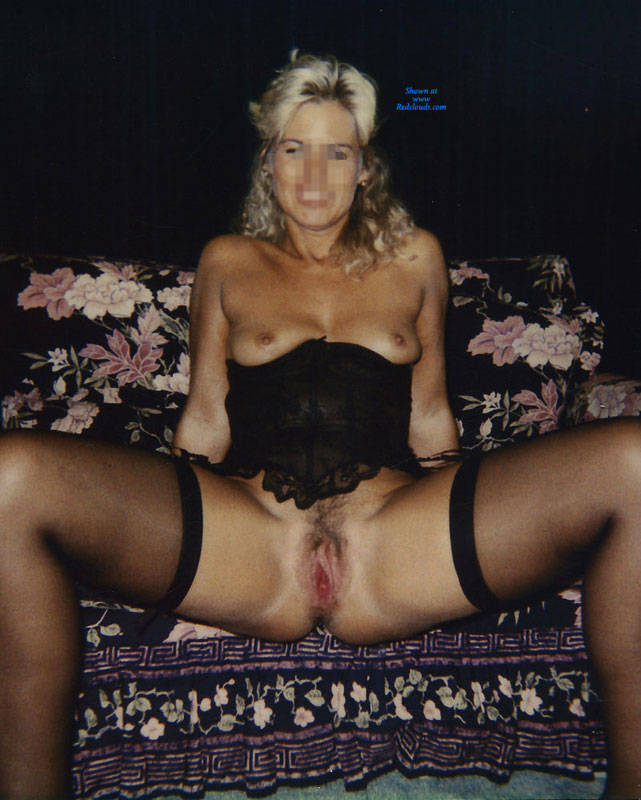 Pic #1My First - Blonde, Lingerie, Wives In Lingerie