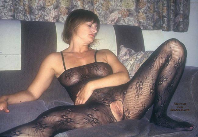 Pic #1Yvonne's Body Stocking - Brunette, Lingerie