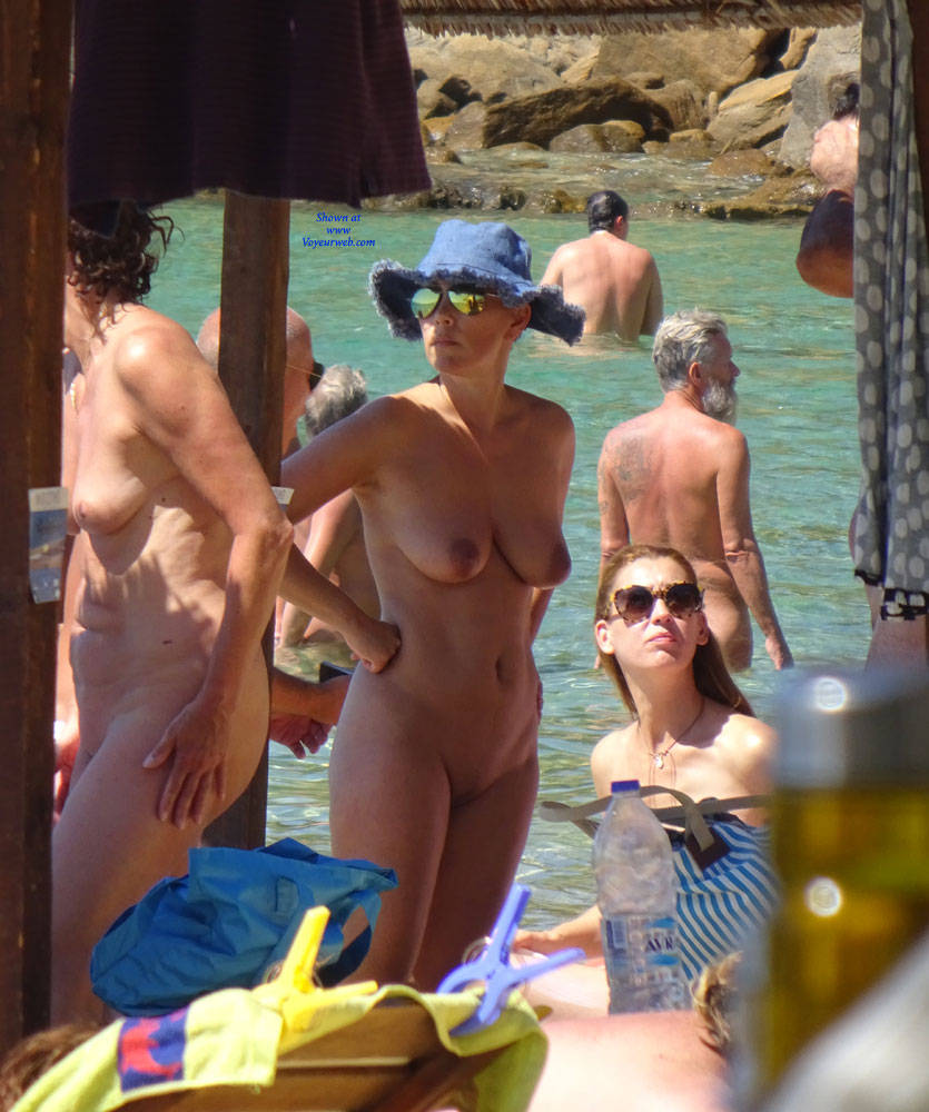 Pic #1The Nude Skiathos Full Of Topless - Beach Voyeur, Big Tits
