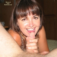 Goldie Best! - Brunette Hair, Blowjob