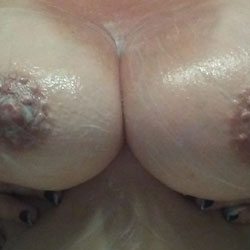 After A Sweaty Workout - Big Tits