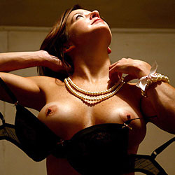 Her Pearls - Big Tits