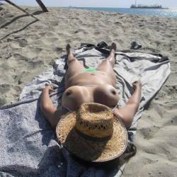 Very large tits of my wife - NINA LATINA