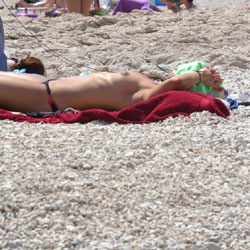 Croatia - Beach Voyeur, Topless Girls