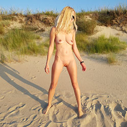 Naked Blonde Sasha In Beach - Big Tits, Blonde Hair, Nipples, Nude Beach, Nude Outdoors, Perfect Tits, Shaved Pussy, Beach Voyeur, Sexy Legs, Wife/wives , Nude, Beach, Naked, Pussy, Tits, Sunglasses, Sasha, Blonde