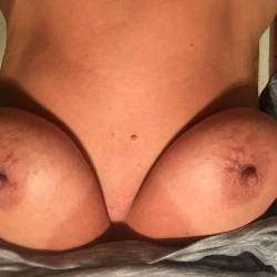 Medium tits of my wife - Debb