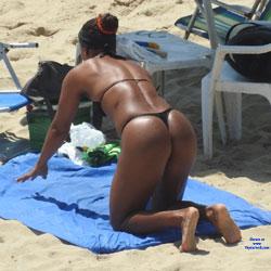 Asses From Boa Viagem Beach - Beach Voyeur, Bikini Voyeur, Brunette